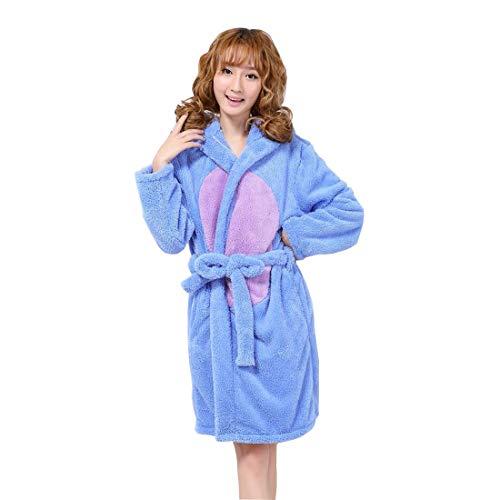 Cool&D Pyjama Schlafanzug Hausanzug Flanell Kostüme für Damen Kinder