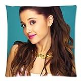 Ariana Grande Custom Kissenbezug Bezüge Reißverschluss Kissen Kissen Fällen 20x 20(Zwei Seiten) CMF 016