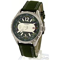 Laurens Herren-Armbanduhr Analog Quarz Grün 025827CC
