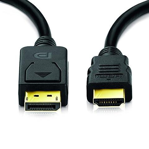 Sentivus – Câble DisplayPort connecteur vers HDMI de langueur 1,5m
