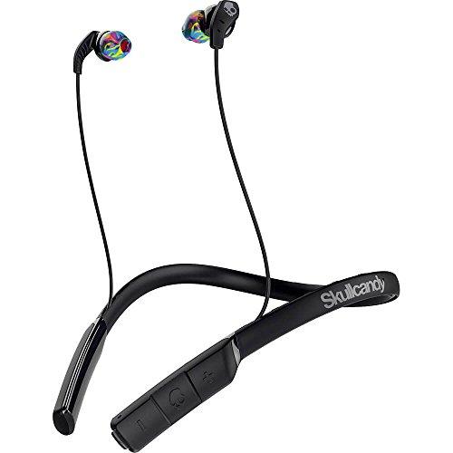 Skullcandy Method Bluetooth Wireless Sport Earbuds with Mic (Black/Swirl)