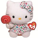 "TY Hello Kitty Lollipop Soft Beanie Toy - 6"""