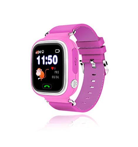 Leotec LESWKIDS02P Smartwatch Kids Way GPS Rosa