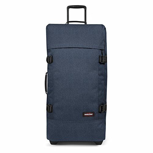 Eastpak Tranverz L Valise, 79 cm, 121 L, Bleu (Double Denim)