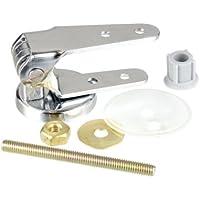 Wenko 289212100 Kit de Fixation pour Siège WC Chrome