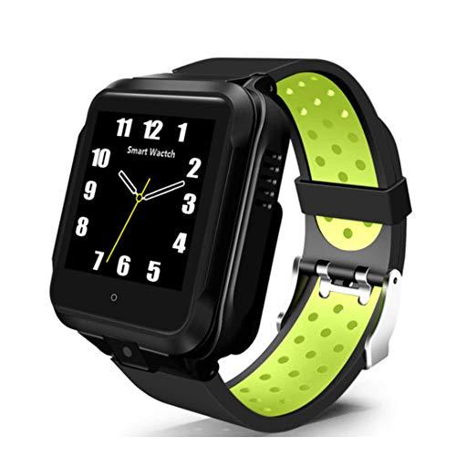 DINGYUFA Reloj Elegante 4G Quad Core 1 GB / 8 GB Inteligente del Reloj del Ritmo cardíaco del Reloj GPS Tracker Localización Relogio para Android