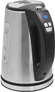 bestron ddk2200 digitaler wasserkocher temperatur einstellbar von 25 bis 100 grad. Black Bedroom Furniture Sets. Home Design Ideas