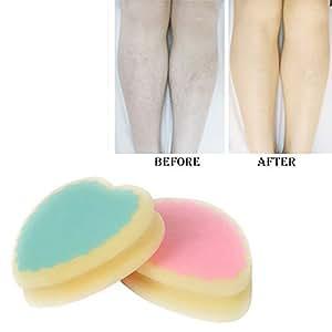 Generic 1pcs Magic Painless Hair Removal Depilation Sponge Pad Save Way To Remove Hair #86930