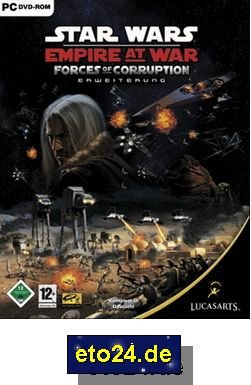 STAR WARS: EMPIRE AT WAR - FORCES OF CORRUPTION CD-ROM - PC