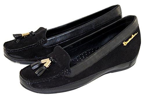 Braccialini Women's Flat platform black Size: 2 UK
