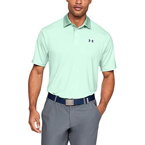 Under Armour Herren Playoff 2.0 Poloshirt, atmungsaktives Sportshirt, komfortables und kurzärmliges Funktionsshirt mit loser Passform - Lg Golf Shirt