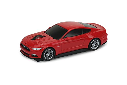 souris-sans-fil-voiture-ford-mustang-gt-2015-rouge