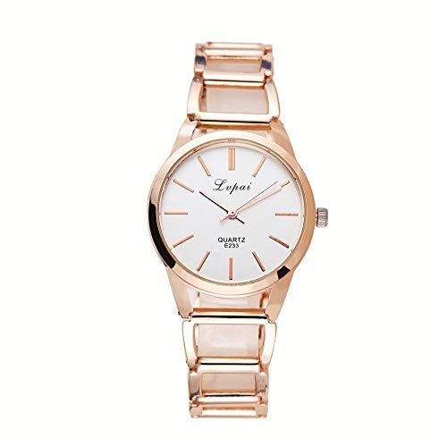 Reloj De Cuarzo para Mujer Reloj Dorado para Dama Reloj Comercial Reloj para Mujer Pulsera Regalo Tiempo...
