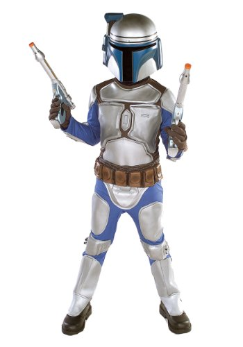 Fett Deluxe Fancy dress costume Medium (sizes 8-10) ()