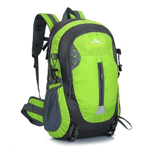 Wmshpeds Borsa a tracolla femmina alpinismo outdoor bag borsa da viaggio versione coreana di marea Sport Tempo libero Zaino computer A