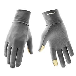 Eroilor Leichte Sporthandschuhe Laufhandschuhe WARM UP von Boodun Running Handschuhe Unisex Sport Handschuhe Slim Walking Handschuhe für Damen und Herren mit Touchscreen-Funktion