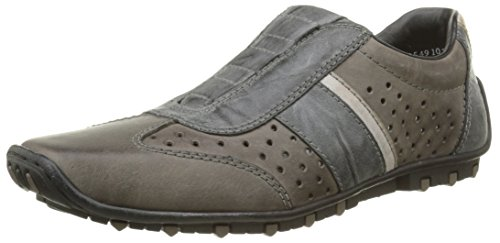 Rieker Herren 08999 45 Slipper Grau - Gris (Granit/Rauch/Steel)