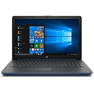Notebook HP 15-DA0121NS Intel N4000 1,1 GHz 8 GB 256 GB SSD 15,6  DVD RW HDMI WiFi BGN BT W10 blau flach