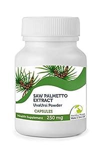Saw Palmetto 250mg & Uva Ursi Veg Extract x90 Capsules Bottle HEATHY MOOD from Healthy Mood