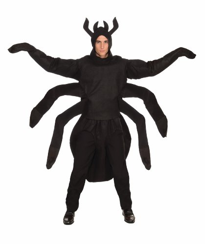Forum Novelties 71125Creepy Spider schwarz Brust Kostüm 42 (Spider Scary Kostüm)