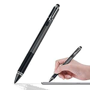 Wrcibo [UpgradeTechnologie] Stylus Stift, 1.5MM Harte Nib USB Aufladbar Touchscreen Kapazitiver Eingabestift Stylus Touch Pen Touch Screen Zeichnen Präzision Kugelschreiber für Smartphones & Tablets