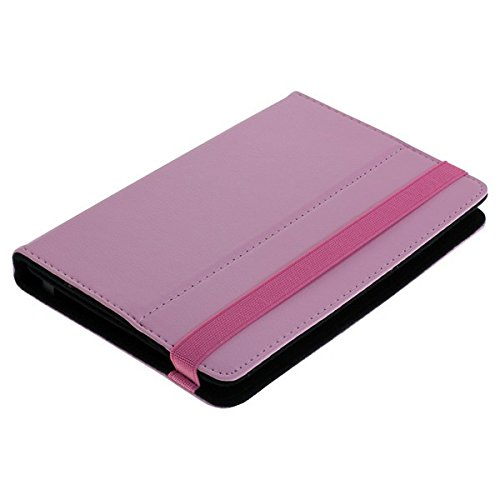 sumo:mobile Universal Bookstyle Tasche für Tablets / Tablet PC's bis 7 Zoll in pink