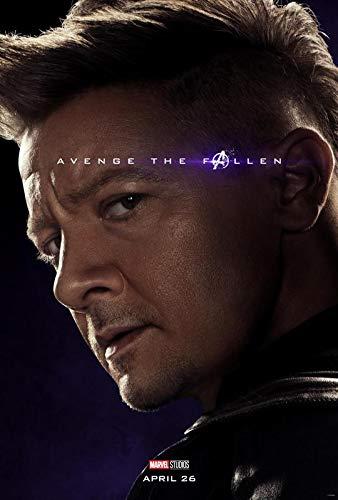 The Avengers Endgame - Hawkeye Ronin - U.S Movie Wall Poster Print - 30cm x 43cm / 12 Inches x 17 Inches (Hawkeye Aus Avengers)