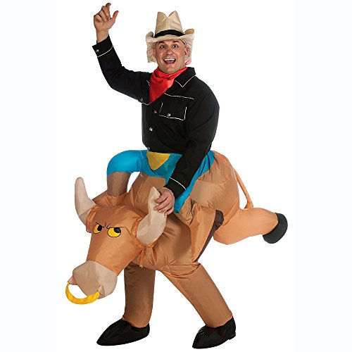 Cowboy Gonflable fan-operated adulte Fancy Dress/fête/Halloween/déguisement airblwon Cosplay -