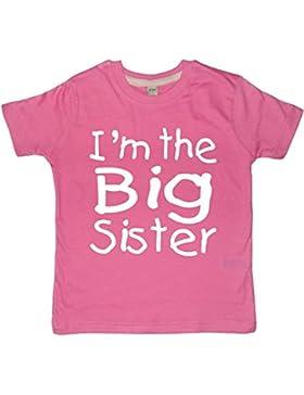 I 'm the Big Sister' fucsia T-de manga corta de mujer