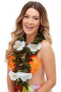 Smiffys 51035 Hawaiian Luau Tiki Lei, Unisex Adulto, Multicolor