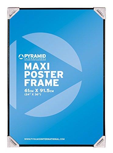 Pyramid Maxi Poster Cadre Photo, Noir, 61x 91.5cm