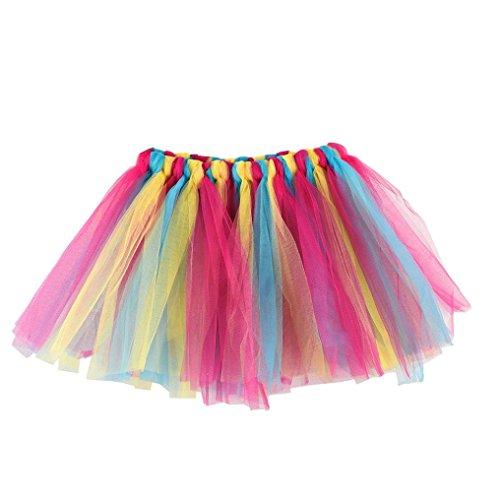 Vintage Petticoat Tutu Unterrock Kurz Ballett Tanzkleid Ballkleid Abendkleid Gelegenheit ZubehöR Tutu Rock (A) (Tanz Kostüme Als Tiere)