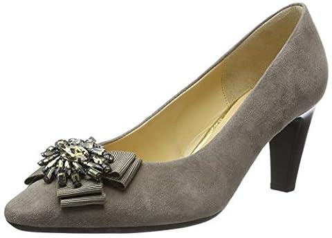 Gabor Shoes 55.152 Escarpins femme, Gris, 38 EU