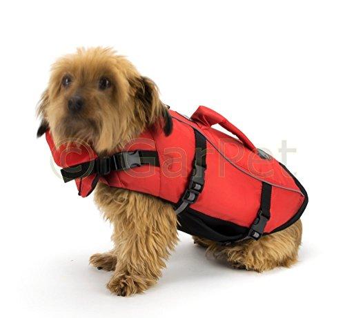 Hunde Schwimmweste Hunderettungsweste Sicherheitsweste Reflektoren Rettungsweste (S)