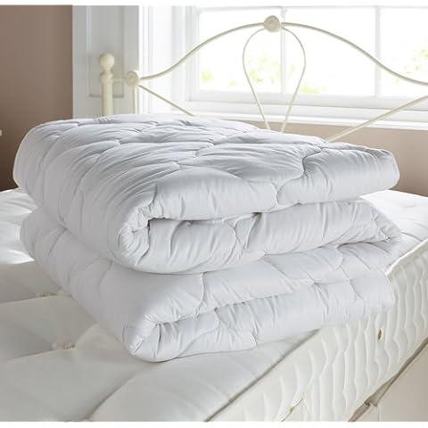 Piumino in lana britannica per letto singolo, misura media
