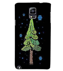 SAMSUNG GALAXY NOTE 3 TREE Back Cover by PRINTSWAG