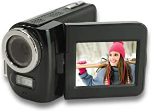 """Aiptek AHD T8 Caméscope à cartes SD / SDHC HD Zoom numérique 3 x / 5 mégapixels / Écran 6 cm (2,4"""") Câble HDMI Noir (Import Allemagne)"""