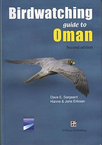 Preisvergleich Produktbild Bird watching guide to Oman