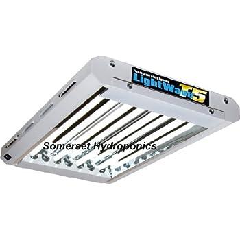 Maxibright T5 LightWave - 2ft x 4lamp Grow Light