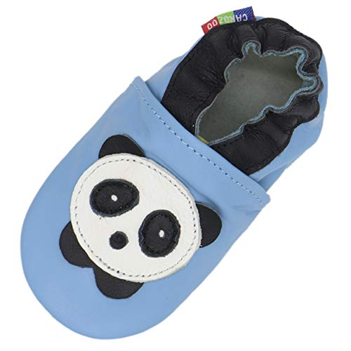 Carozoo Panda Light Blue 12-18m