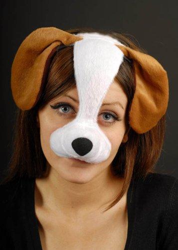 Maschera cane su archetto - Cane Carino Travestimenti