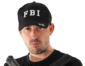 Deguisement-discount - Casquette fbi