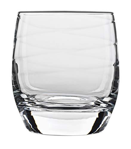 Luigi Bormioli Romantica Whiskygläser, 37,5 cl, 4 Stück, in Geschenkbox