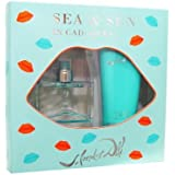 Sea And Sun In Cadaques Gift Set With Eau De Toilette Spray 1 Oz And Body Lotion 3.4 Oz For Women By Salvador...