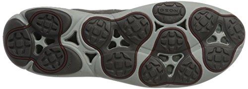Geox Herren U Nebula C Sneaker Grau (Anthracite)