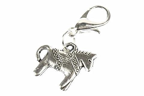 Dalapferd dala pendentif cheval dalahäst miniblings schwedenpferd