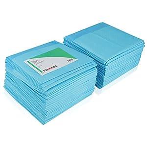 REMEDIES hoch-absorbiernde, mit weichem Fluff gefüllte, wegwerfbare Unterlagen, 58 x 60 cm, 31 Gramm, (200 Stück)