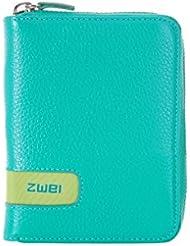 zwei Wallet RV-Geldbörse W1 10 cm, turquoise