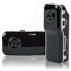 Lupo Md80 Mini Sports Dvr Video Camera, Digital Camera & Voice Recorder - Black