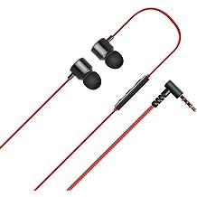 Emartbuy–Original LG Rojo 3.5mm Quad Beat 3en Ear premium de oído Auricular con micrófono & control remoto Adecuado para LG G5, LG G4, LG G2, LG G3, LG G3s, LG G2Mini, LG Nexus 5& LG Nexus 4en Paquete grande)
